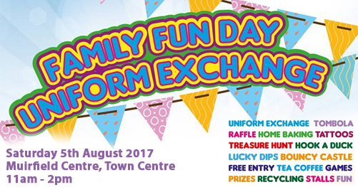 Family Fun Day & Uniform Exchange